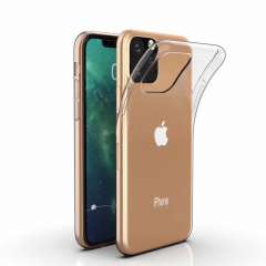 Apple iPhone 11 TPU Hoesje Transparant
