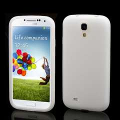 Samsung Galaxy S4 i9500 Silicone Hoesje Wit