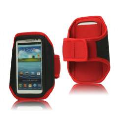 Sport Armband Hoes LG Optimus 4X HD P880 Rood