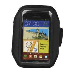Sport Armband Hoes Samsung Galaxy Note N7000 Zwart