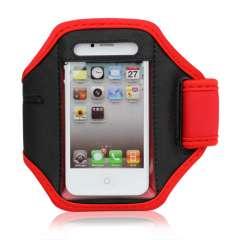 Sport Armband iPhone 4/4S Rood