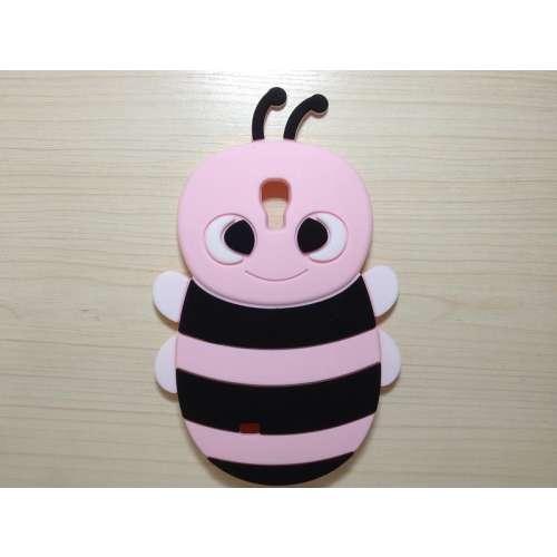 3D Honingbij Silicone Case Samsung Galaxy S4 i9500 Pink