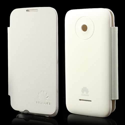 Accudeksel Flip Cover Huawei Ascend Y210 Wit