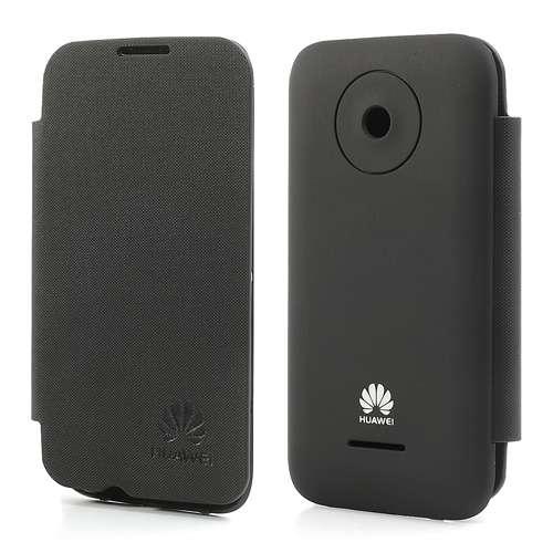 Accudeksel Flip Cover Huawei Ascend Y210 Zwart