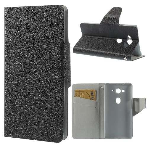 Acer Liquid E3 Bookstyle Case Hoesje Zwart