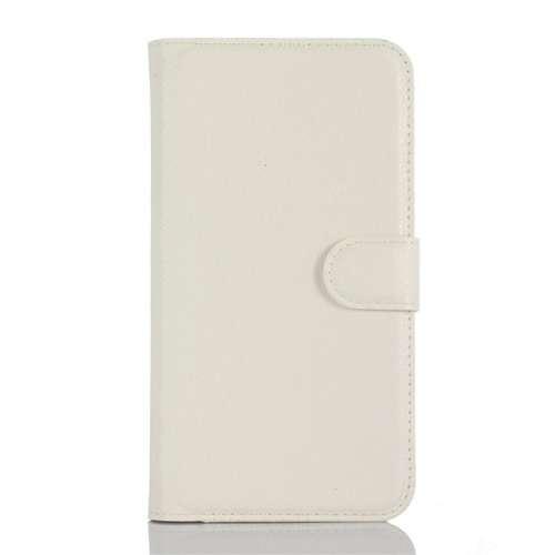 B2Ctelecom Acer Liquid Z330 Hoesje Wit met Opbergvakjes