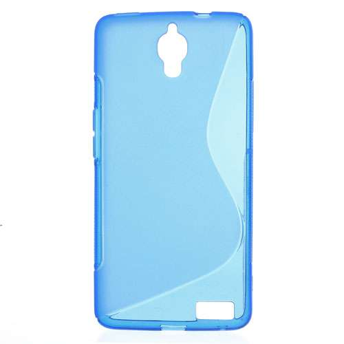Alcatel One Touch Idol X (OT-6040D) TPU Hoesje Blauw