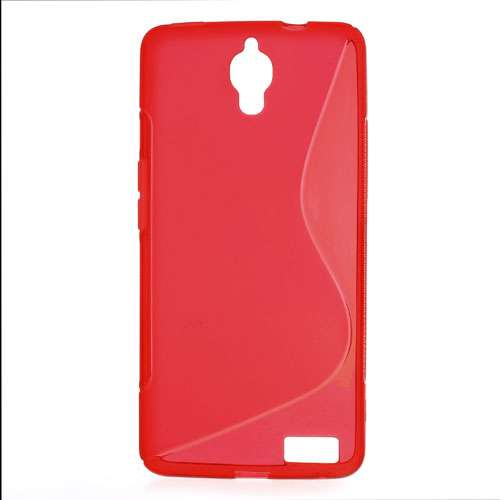 Alcatel One Touch Idol X (OT-6040D) TPU Hoesje Rood