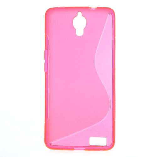 Alcatel One Touch Idol X (OT-6040D) TPU Hoesje Roze
