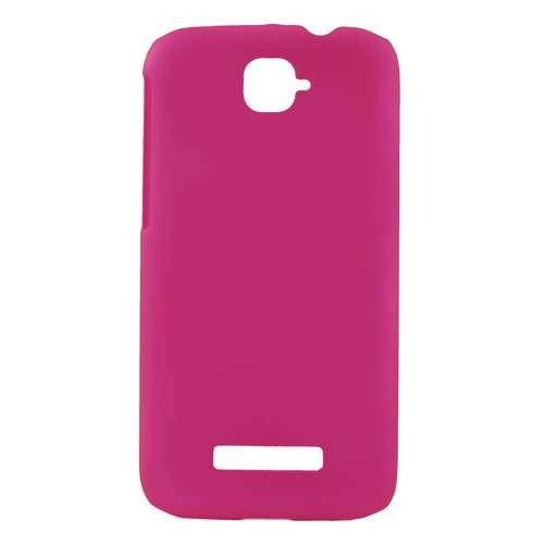 Alcatel One Touch Pop C7 Hard Case Hoesje Donkerroze
