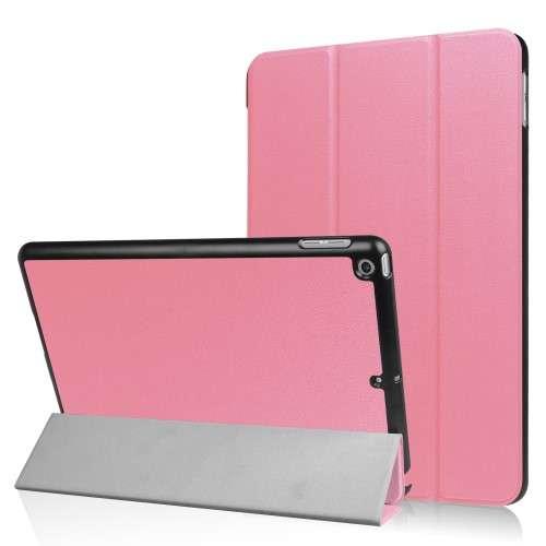 B2Ctelecom Apple iPad 9.7 (2017) Tablethoesje Lichtroze Tri fold