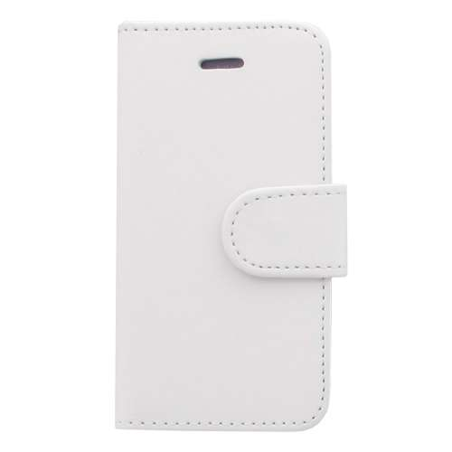 Apple iPhone 4 of 4S Mat Boekstyle Case Hoesje Wit