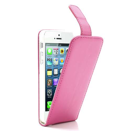 Apple iPhone 5 | 5S Flip Hoesje Roze