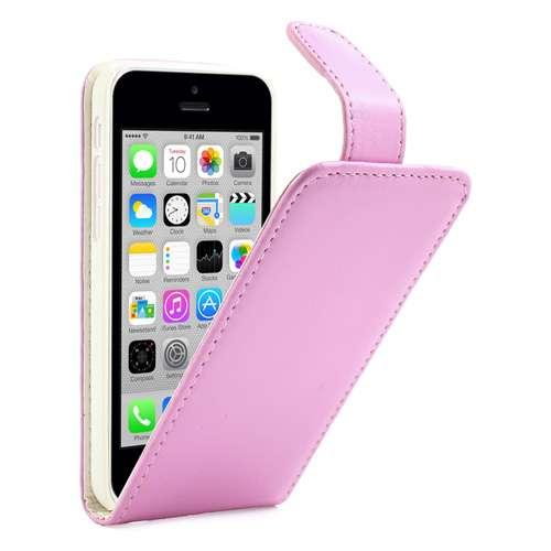Apple iPhone 5C Fliphoesje Case Roze