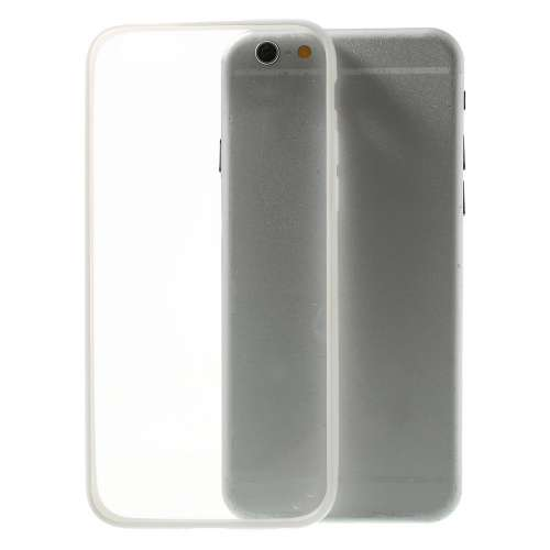 Apple iPhone 6 | 6s Hoesje Transparant-Wit