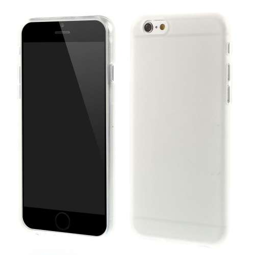 Apple iPhone 6 TPU Case Hoesje Anti-fingerprint Transparant