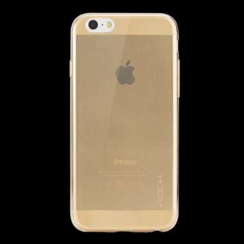 Apple iPhone 6 | 6s TPU Case Hoesje Glanzend Rock Goud