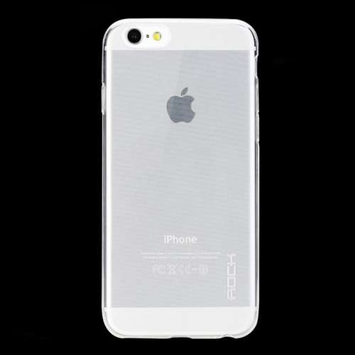 Apple iPhone 6 TPU Case Hoesje Glanzend Rock Transparant