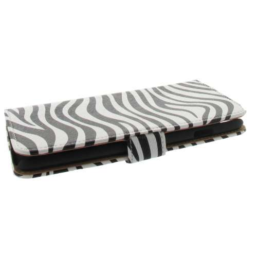 Apple iPhone 6 Plus Bookstyle Hoesje Zebra