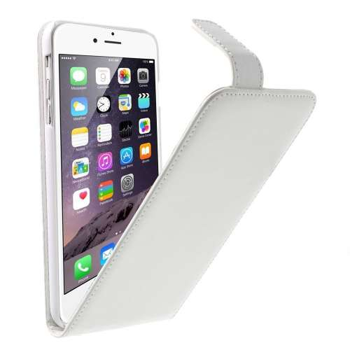 Apple iPhone 6 Plus Flip Hoesje Wit