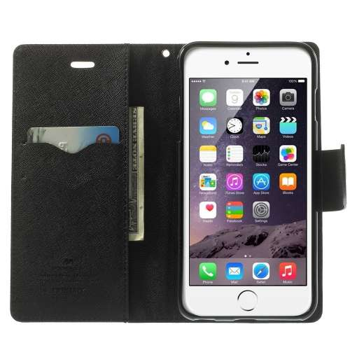 Apple iPhone 6 Plus | 6s Plus Mercury Stand Case Hoesje Bruin