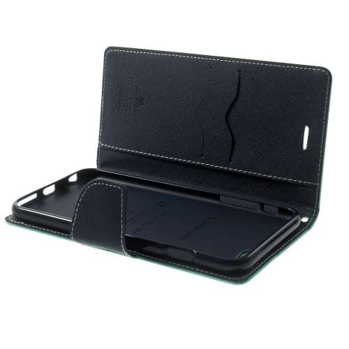 Apple iPhone 6 Plus | 6s Plus Mercury Stand Case Hoesje Cyaan