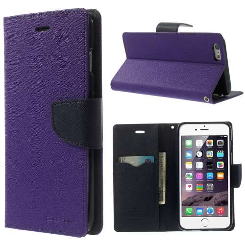 Apple iPhone 6 Plus Mercury Stand Case Hoesje Paars