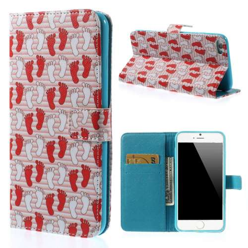 Apple iPhone 6 Plus Stand Case Hoesje Voetjes Print
