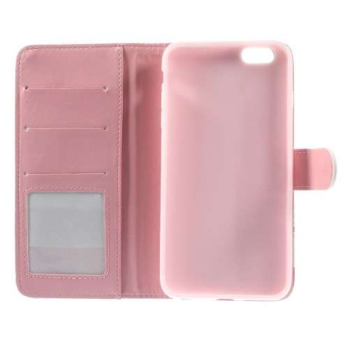 Apple iPhone 6 Plus | 6s Plus Stand Case Hoesje Zeester & Vis