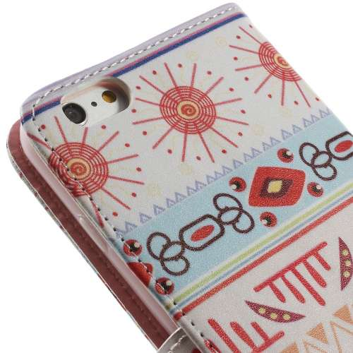 Apple iPhone 6 Plus | 6s Plus Stand Case Hoesje Zomer Print