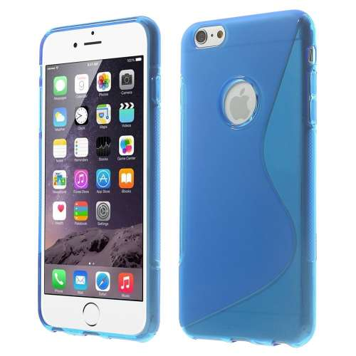 Apple iPhone 6 Plus TPU Hoesje Blauw