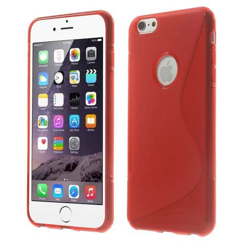 Apple iPhone 6 Plus TPU Hoesje Rood