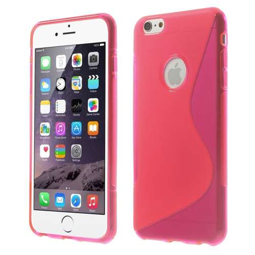 Apple iPhone 6 Plus TPU Hoesje Roze