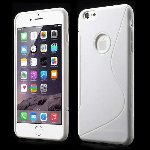 Apple iPhone 6 Plus TPU Hoesje Wit