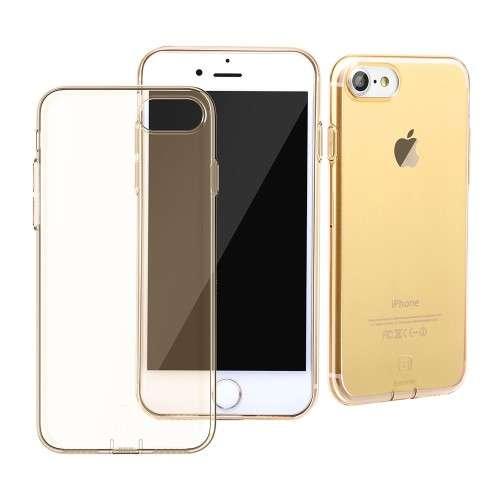 Apple iPhone 7 TPU Hoesje Goud, Merk Baseus!