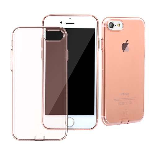 BASEUS Apple iPhone 7 | 8 TPU Hoesje Rosékleurig, Merk Baseus!
