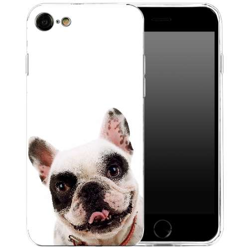 Apple iPhone 7 | 8 Uniek TPU Hoesje Hond