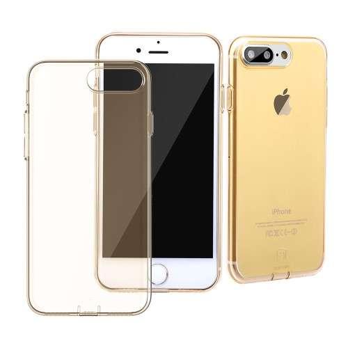 Apple iPhone 7 Plus TPU Hoesje Goud, Merk Baseus!