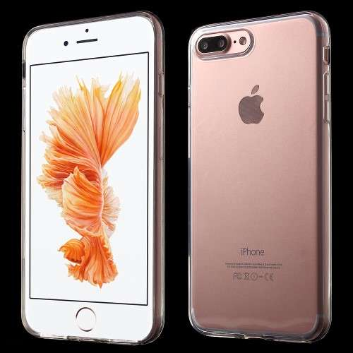 Apple iPhone 7 Plus TPU Hoesje Transparant