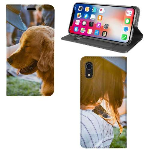 Apple iPhone Xr Stand Case Hoesje Maken met Foto