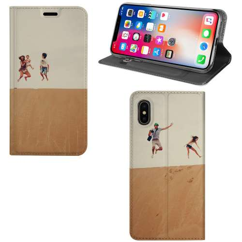 Apple iPhone Xs Max Stand Case Hoesje Maken met Foto's