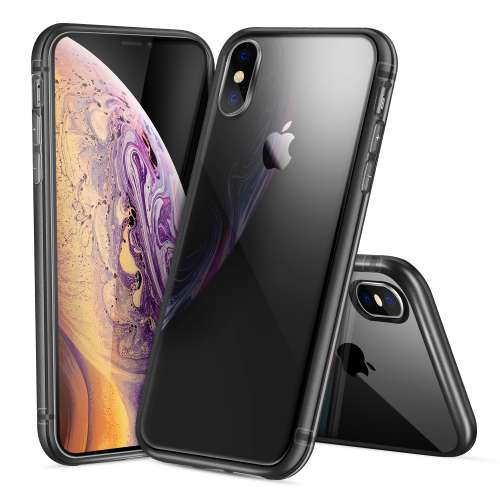 Apple iPhone Xs Max TPU Hoesje Grijs