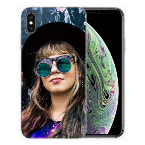 Apple iPhone Xs Max TPU Hoesje Maken met Foto's