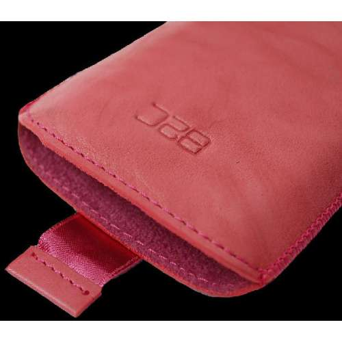 B2C Leather Case HTC ChaCha Washed Pink