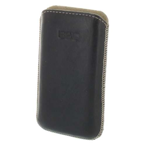 B2C Leather Case Samsung S5830 Galaxy Ace Washed Black