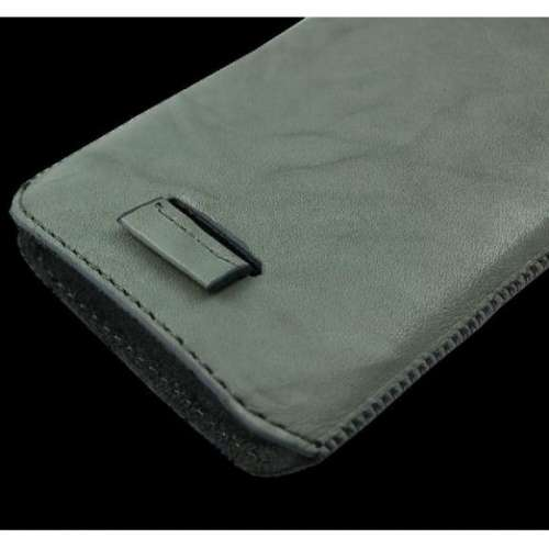 B2C Leather Case Samsung S7270 Galaxy Ace3 Washed Grey