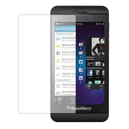 Blackberry Z10 Screenprotector Transparant B2Ctelecom Schitterend