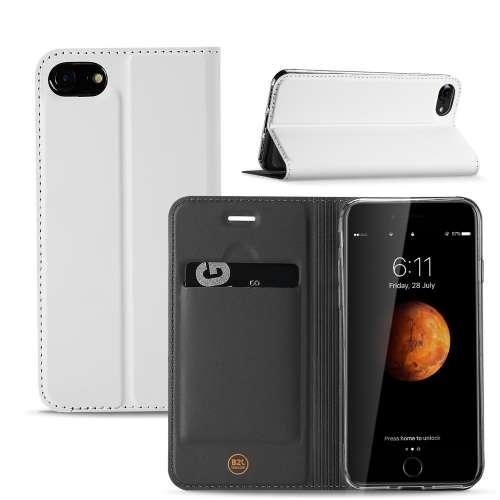 Book Case iPhone 7 | 8 | SE (2020) Hoesje Wit met Standaardfunctie