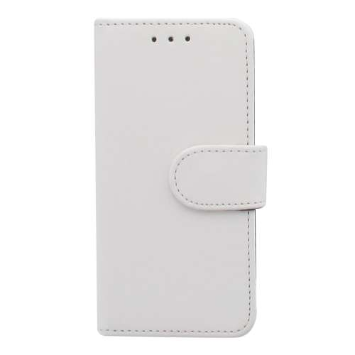 Premium Bookstyle Case voor Samsung Galaxy S4 Mini i9190 Wit