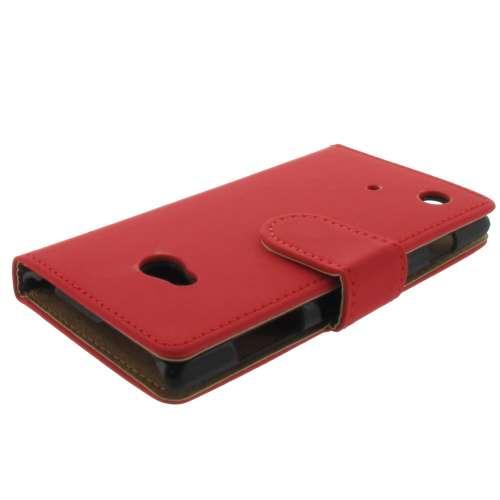 Premium Bookstyle Hoesje Nokia Lumia 720 Mat Rood